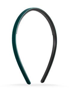Thin Velvet Headband - Blue