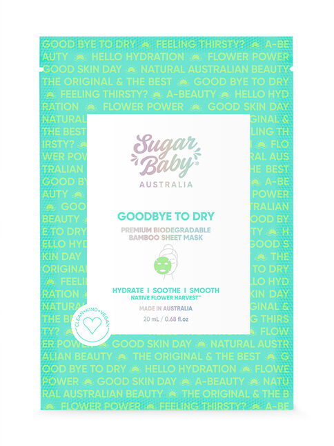 GOODBYE TO DRY Ultra Hydrating Face Mask
